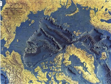 Arctic Ocean Floor - by National Geographic 1971